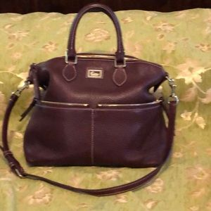 LIKE NEW DOONEY AND BOURKE Burgundy Large Domed